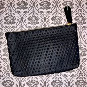 2/$10 Ipsy Bag Black Textured